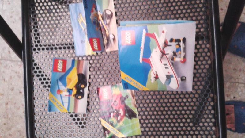 lotto istruzioni e cataloghi  LEGO anni 80-90 20150815
