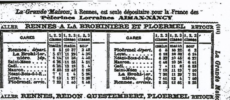La Brohininière - Mauron - Ploërmel Scan64