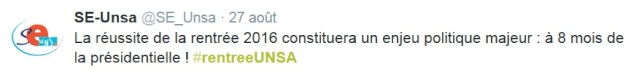 """Le Se-Unsa relève le défi du soutien aux réformes et se réjouit de """"l'an IV de la refondation"""" Unsa_p11"""