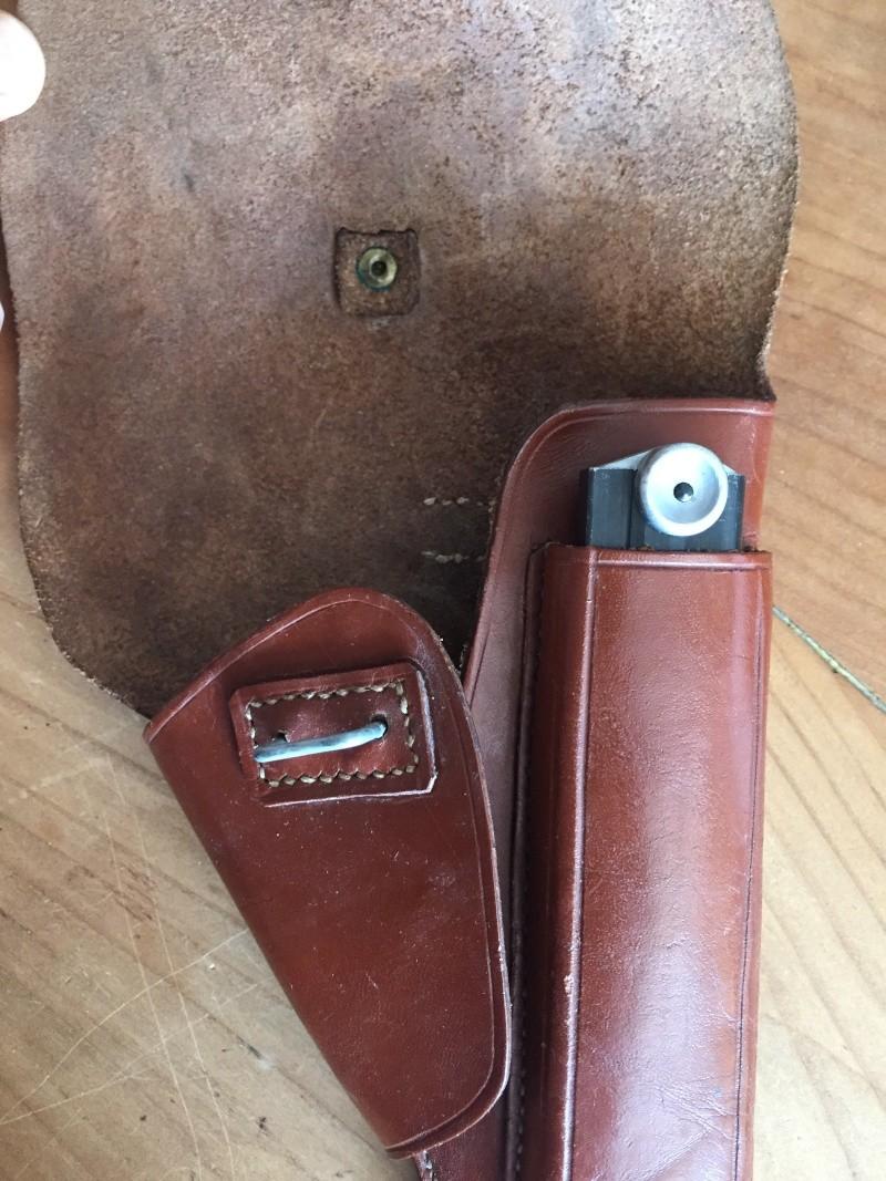 Luger P08 français, accessoires et ses munitions 01911
