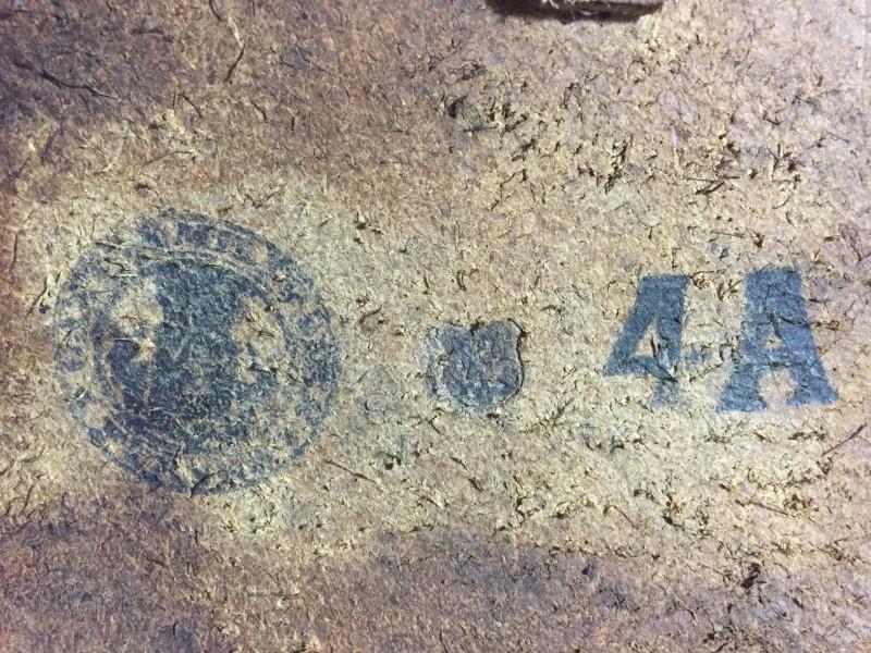 ORIGINAL OU COPIE - Etui FN GP 35 - identification des tampons à l'intérieur d'étui belge 02510