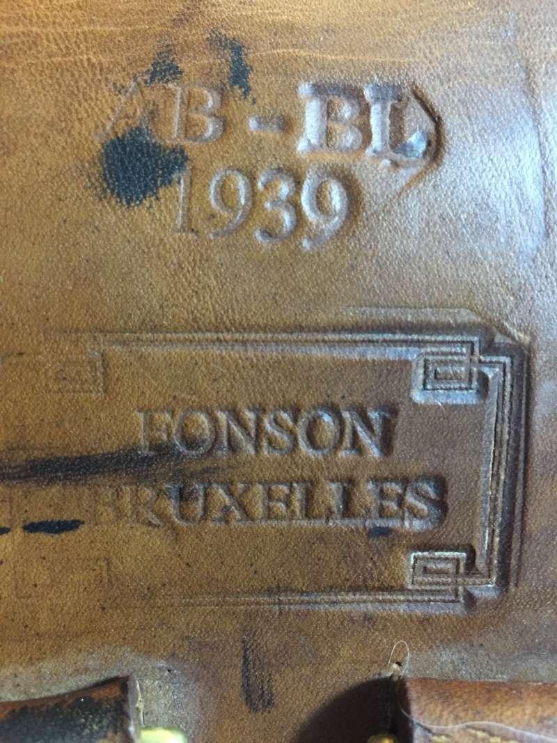 ORIGINAL OU COPIE - Etui FN GP 35 - identification des tampons à l'intérieur d'étui belge 02810