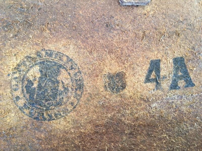 ORIGINAL OU COPIE - Etui FN GP 35 - identification des tampons à l'intérieur d'étui belge 03110