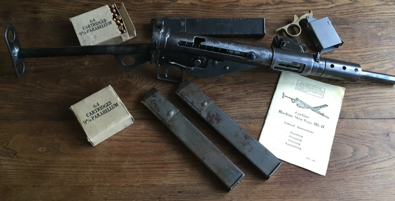 STEN MK2 wrapped-and-welded et différents chargeurs Fullsi10