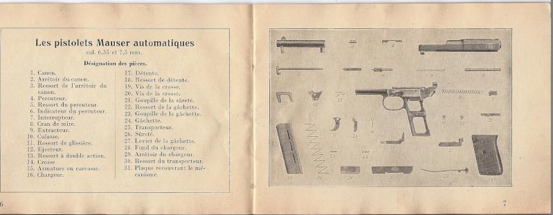 Manuel Mauser 1910 en calibre 7.65 / 6.35 Mauser13