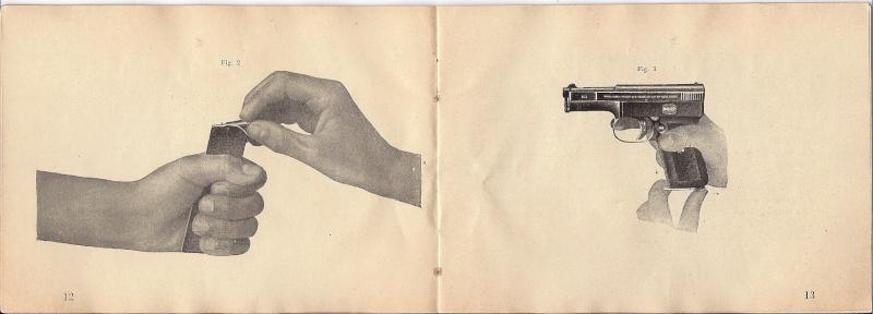 Manuel Mauser 1910 en calibre 7.65 / 6.35 Mauser16