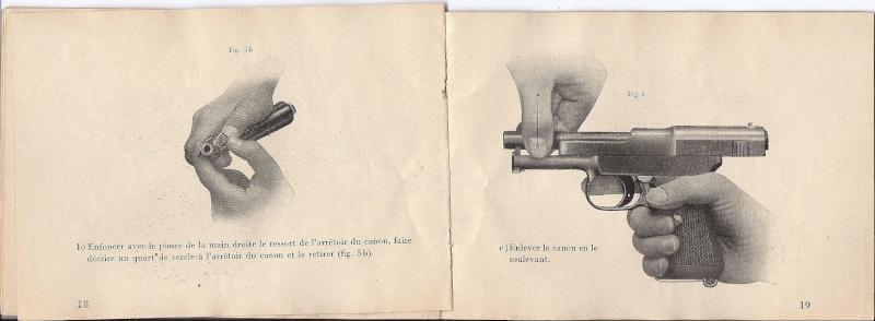 Manuel Mauser 1910 en calibre 7.65 / 6.35 Mauser19