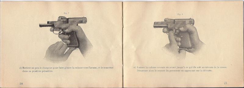 Manuel Mauser 1910 en calibre 7.65 / 6.35 Mauser20