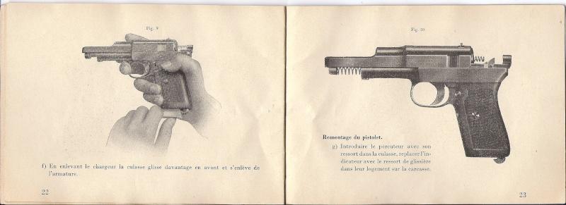 Manuel Mauser 1910 en calibre 7.65 / 6.35 Mauser21