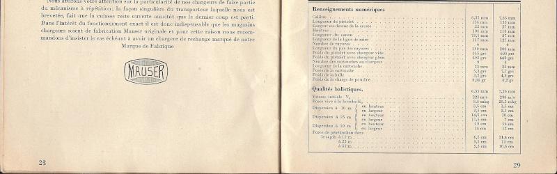 Manuel Mauser 1910 en calibre 7.65 / 6.35 Mauser24