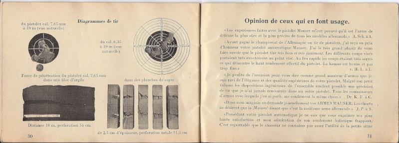 Manuel Mauser 1910 en calibre 7.65 / 6.35 Mauser25
