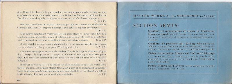 Manuel Mauser 1910 en calibre 7.65 / 6.35 Numyri19