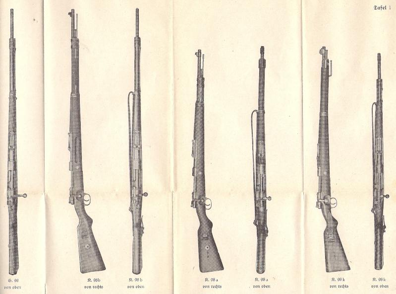 Manuel H. Dv. 257 fusil et carabine 98 Numyri22