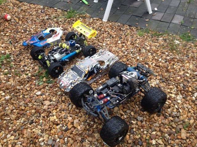 Mon ex FG Monster Beetle & mes autres ex rc non short course 10258210