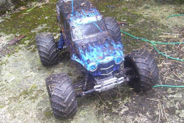 Mon ex FG Monster Beetle & mes autres ex rc non short course 10291710