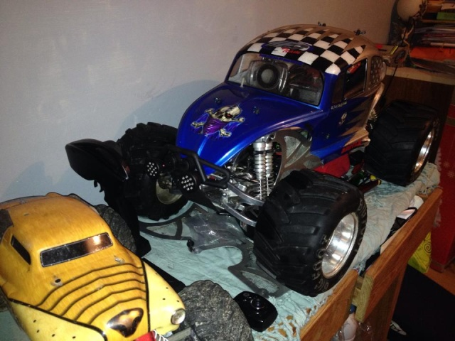Mon ex FG Monster Beetle & mes autres ex rc non short course 10409610
