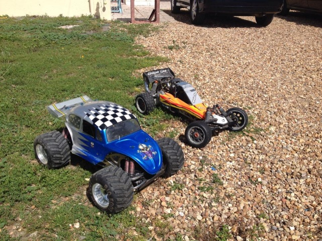 Mon ex FG Monster Beetle & mes autres ex rc non short course 10665810
