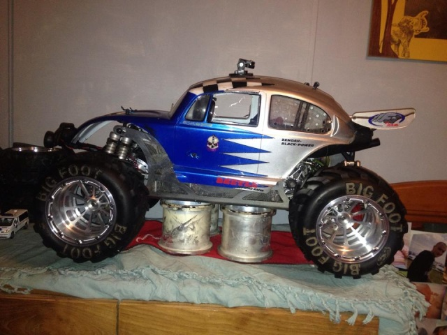 Mon ex FG Monster Beetle & mes autres ex rc non short course 10891410