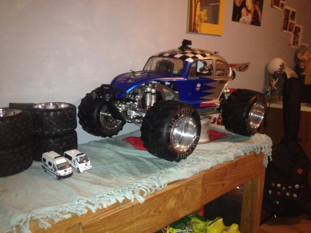 Mon ex FG Monster Beetle & mes autres ex rc non short course 10891910