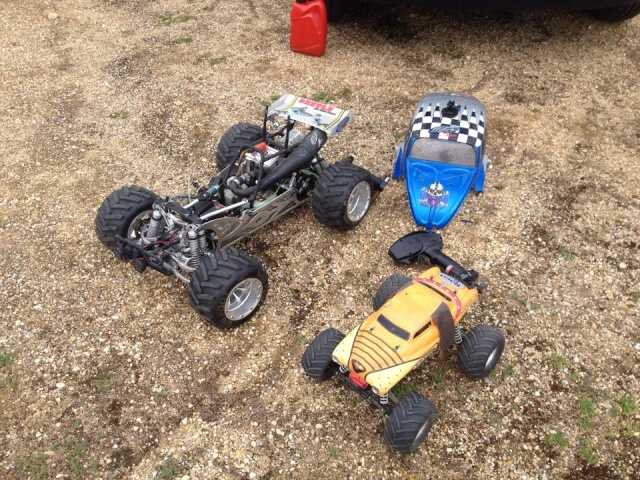 Mon ex FG Monster Beetle & mes autres ex rc non short course 11390110