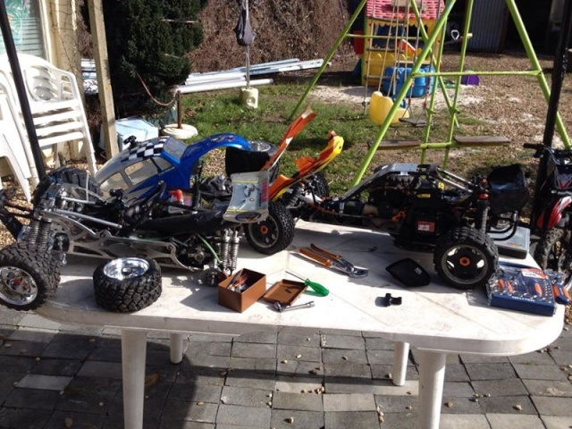 Mon ex FG Monster Beetle & mes autres ex rc non short course 16184_12