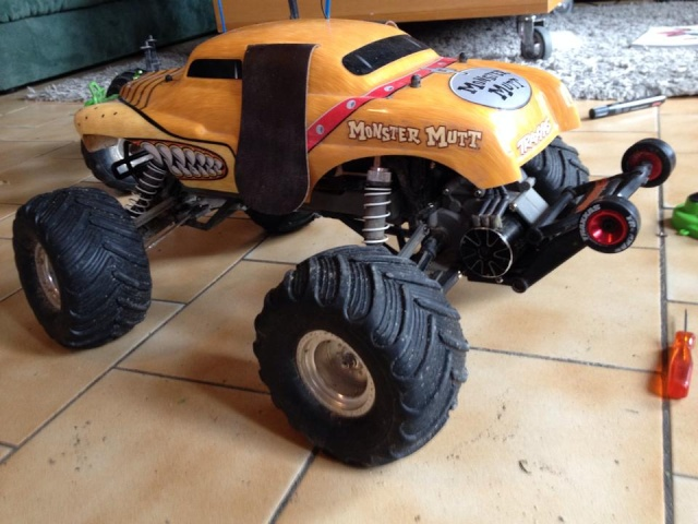 Traxxas Monster Mutt, 1/10 18912410