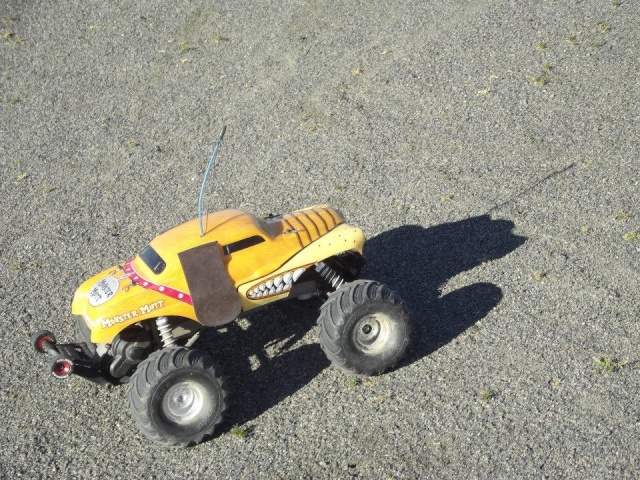 Traxxas Monster Mutt, 1/10 19013210