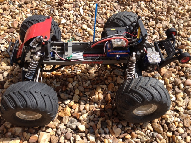 Mon ex FG Monster Beetle & mes autres ex rc non short course 70026110
