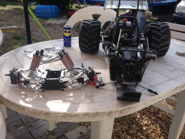 Mon ex FG Monster Beetle & mes autres ex rc non short course Img_2614