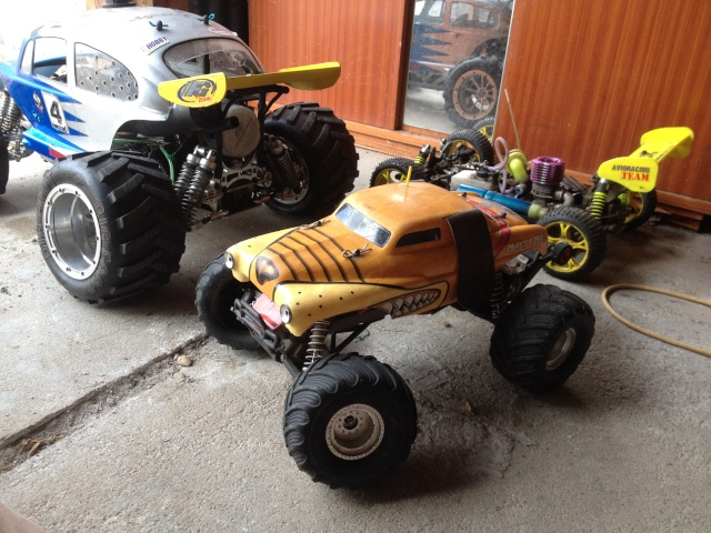 Mon ex FG Monster Beetle & mes autres ex rc non short course Img_6219