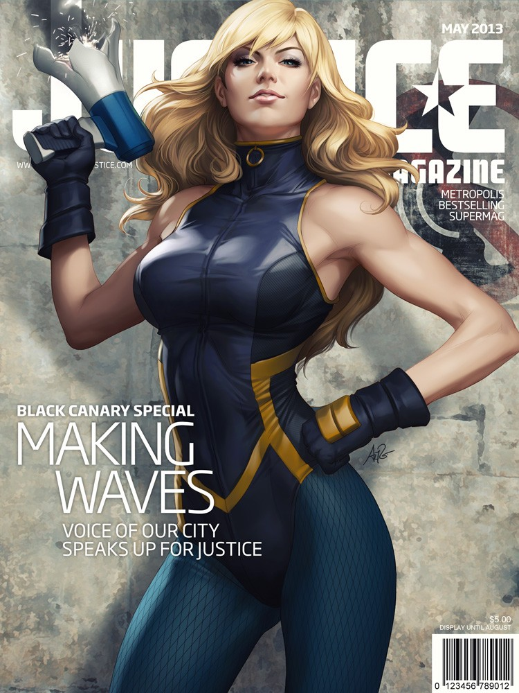 DC Cover Girls: Black Canary by Artgerm  F87cfe10