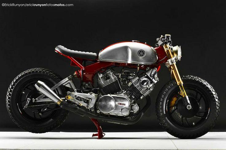 Yam XV 1000 qui déboîte  Yamaha10