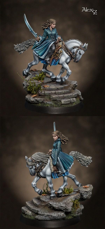 Coups de coeur Figurines du Bien Winterfell Arwen_13