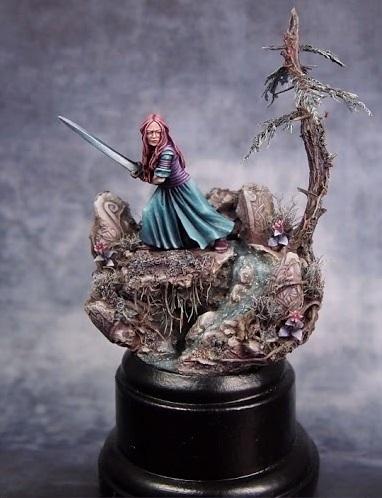 Coups de coeur Figurines du Bien Winterfell Eowyn_13