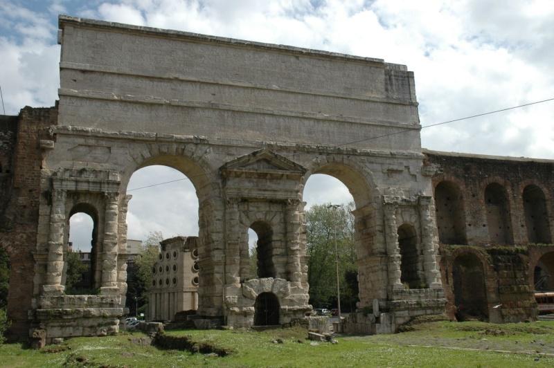 La Muralla Aureliana, una enorme muralla para proteger la ciudad de Roma Porta210