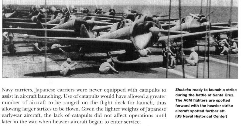 Position des avions sur P.A IJN Captur16