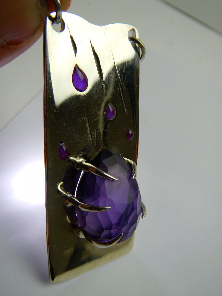 "Pendentif ""purple rain"" Dscn6210"