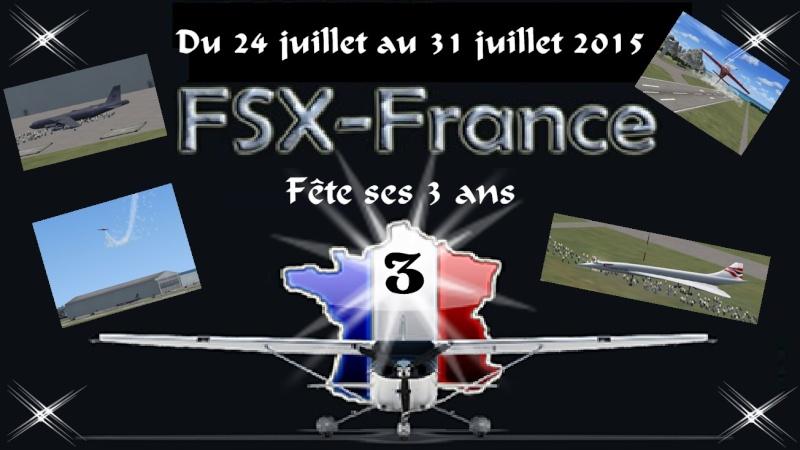 FSX-France fête ses 3 ans Affich10
