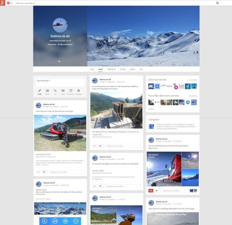 Page Google+ / Actualités Captur12