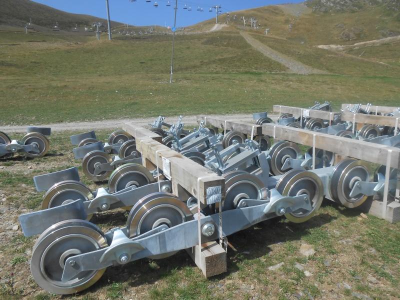 Construction du télésiège débrayable 6 places (TSD6) Bouleaux Dscn3013
