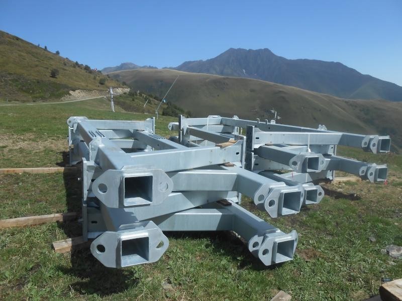 Construction du télésiège débrayable 6 places (TSD6) Bouleaux Dscn3014