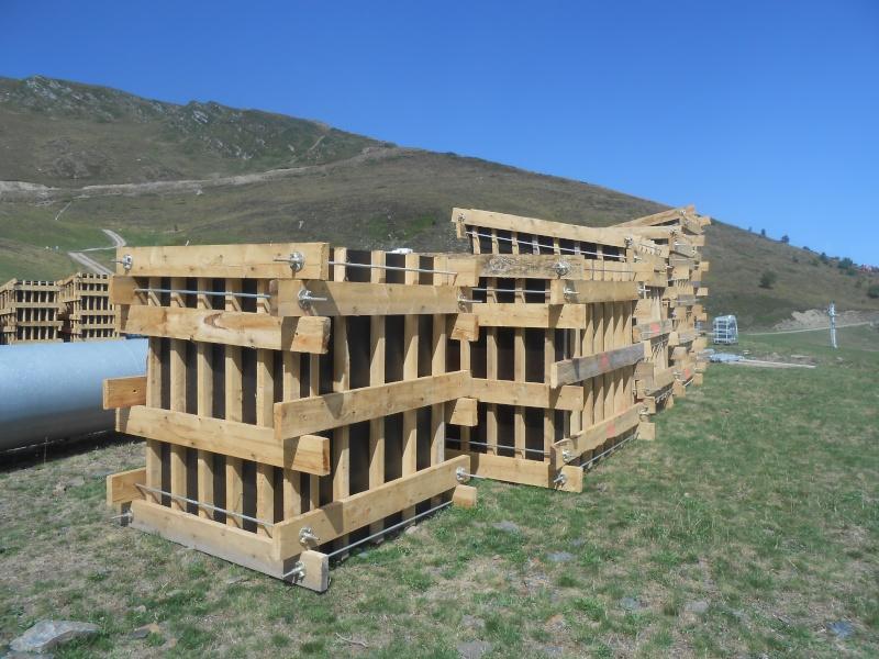 Construction du télésiège débrayable 6 places (TSD6) Bouleaux Dscn3015