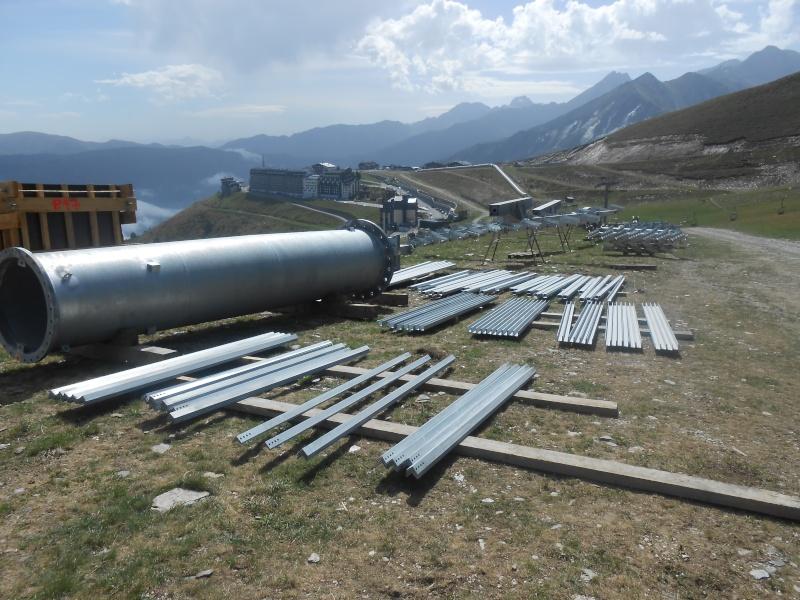 Construction du télésiège débrayable 6 places (TSD6) Bouleaux Dscn3016