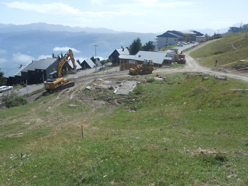 Construction du télésiège débrayable 6 places (TSD6) Bouleaux Dscn3113