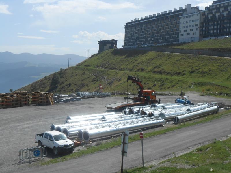 Construction du télésiège débrayable 6 places (TSD6) Bouleaux Dscn3118