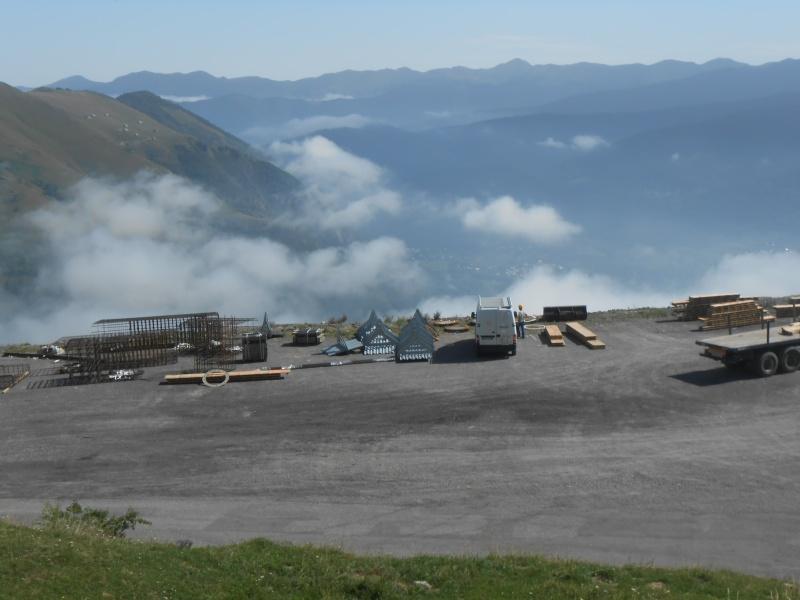 Construction du télésiège débrayable 6 places (TSD6) Bouleaux Dscn3119