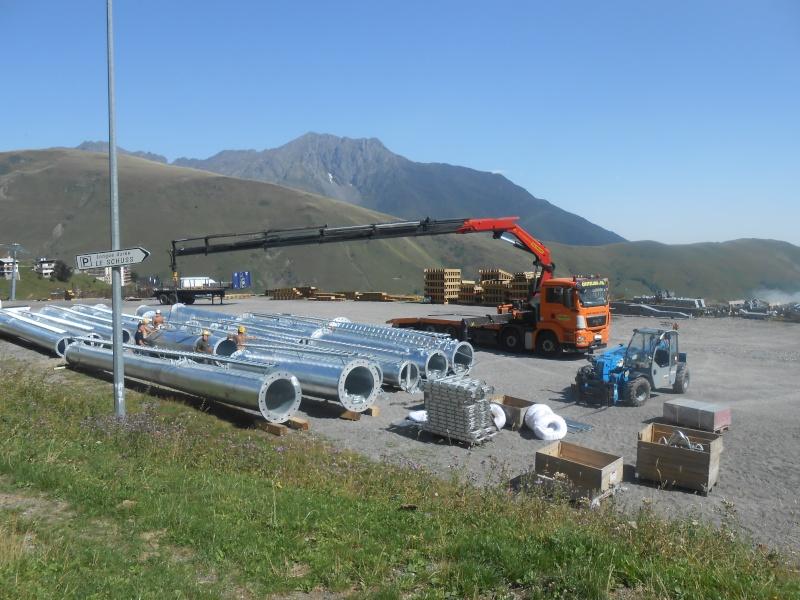Construction du télésiège débrayable 6 places (TSD6) Bouleaux Dscn3120