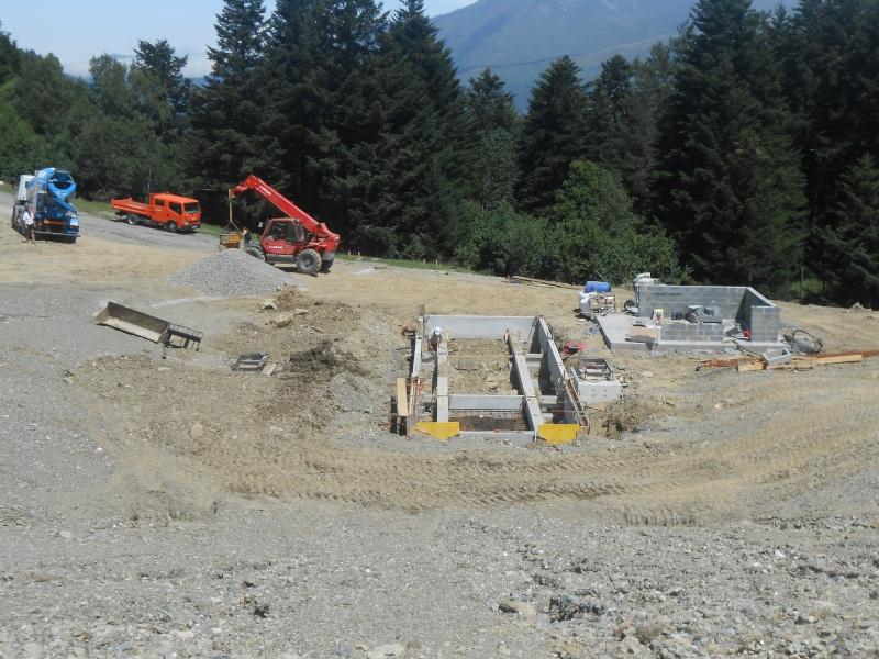 Construction du télésiège fixe 4 places (TSF4) Sapins Dscn3122