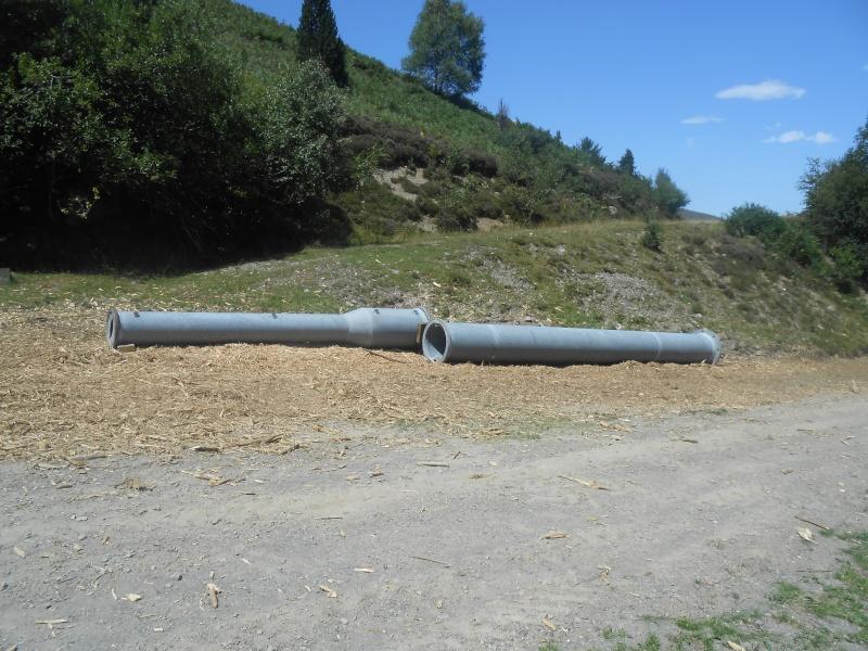 Construction du télésiège fixe 4 places (TSF4) Sapins Dscn3131