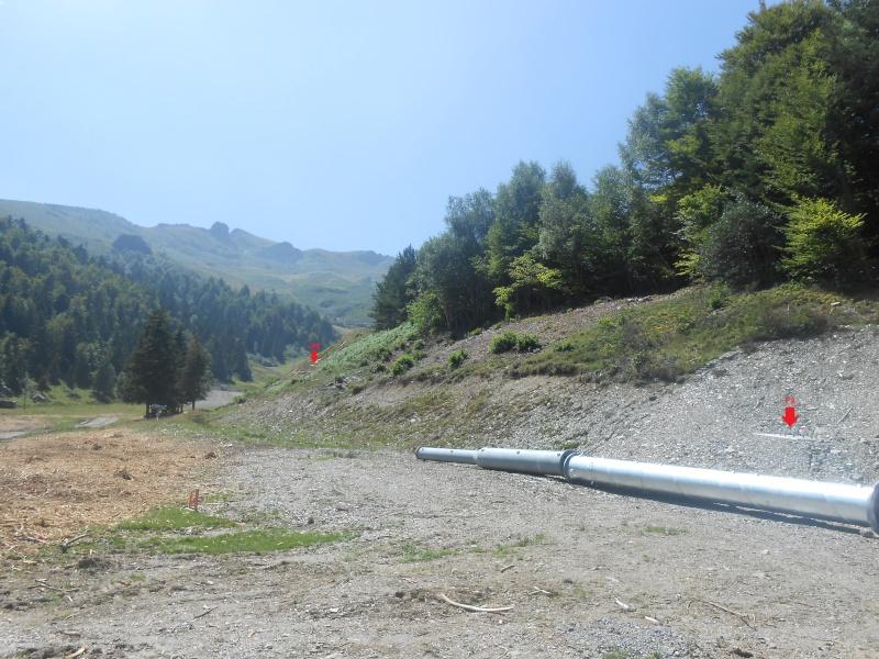 Construction du télésiège fixe 4 places (TSF4) Sapins Dscn3138